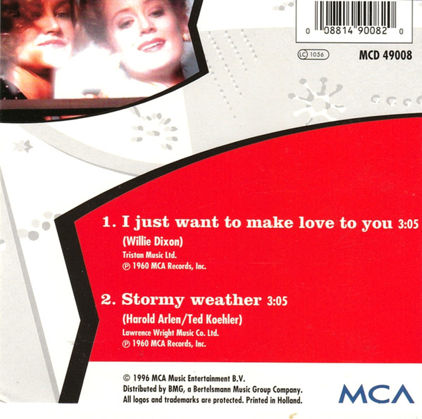 Etta James I Just Wanna Make Love To You Cd Si 1996 Het Plaathuis