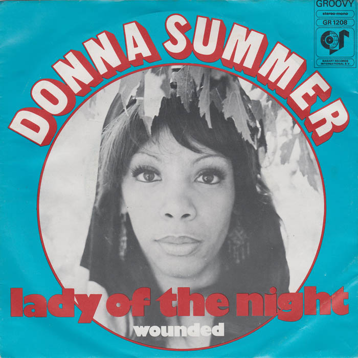 Donna Summer Lady Of The Night 7si 1974 Het Plaathuis