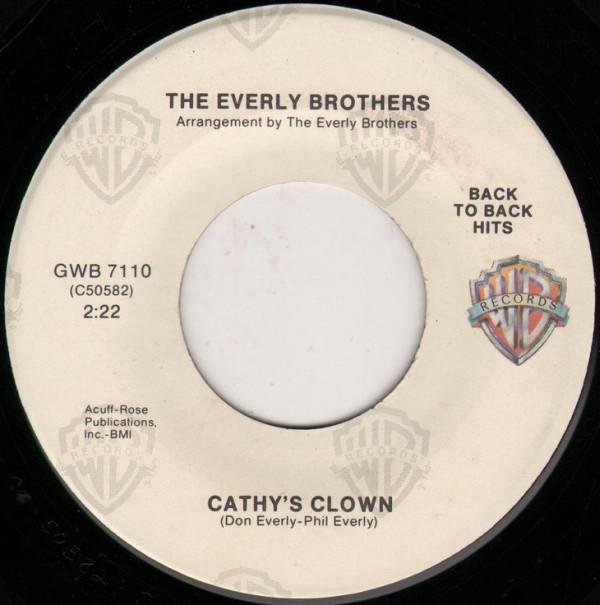 Cathy's Clown / So Sad (To Watch